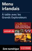 Menu irlandais - À table avec les Grands Explorateurs
