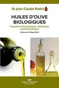 Huiles d'olives biologiques