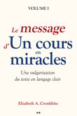 Le message d'Un cours en miracles