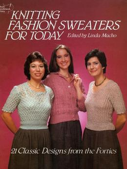 Knitting Fashion Sweaters for Today