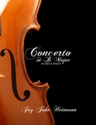 Concerto in B Major: Score and Parts