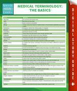 Medical Terminology:The Basics Speedy Study Guides