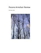 Pocono Armchair Review, First Issue, 2014