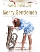 God Rest Ye Merry, Gentlemen Pure Sheet Music for Organ, Arranged by Lars Christian Lundholm