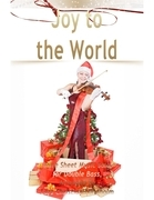 Joy to the World Pure Sheet Music Solo for Double Bass, Arranged by Lars Christian Lundholm
