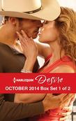 Harlequin Desire October 2014 - Box Set 1 of 2: Stranded with the Rancher\Her Secret Husband\A High Stakes Seduction
