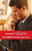Harlequin Desire October 2014 - Box Set 2 of 2: The Child They Didn't Expect\Tempted by a Cowboy\For Her Son's Sake