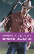 Harlequin Intrigue October 2014 - Box Set 1 of 2: Cowboy Behind the Badge\The Hill\Christmas at Thunder Horse Ranch