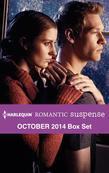Harlequin Romantic Suspense October 2014 Box Set: Snowstorm Confessions\A Secret Colton Baby\The Agent's Surrender\Cody Walker's Woman