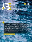 Understanding culture in territorial management and its implications for spatial planning.