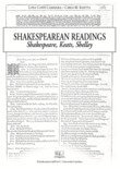 Shakespearean Readings