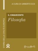 Il Cinquecento - Filosofia