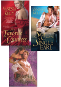 Vanessa Kelly Bundle: My Favorite Countess, Sex and the Single Earl, Mastering t he Marquess