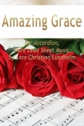 Amazing Grace for Accordion, Pure Lead Sheet Music by Lars Christian Lundholm