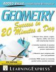 Geometry Success in 20 Minutes a Day, 4th Edition