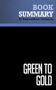 Summary: Green to Gold - Daniel Esty and Andrew Winston