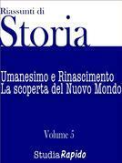 Riassunti di Storia - Volume 5