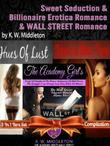 Sweet Seduction & Billionaire Erotica Romance & Wall Street Romance: 3 In 1 Box Set: The Academy Girl's Drop Of Doubt Vol. 1 (The Wall Street Billiona