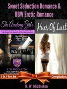 Sweet Seduction Romance & BBW Erotic Romance: Box Set 2 In 1: The Academy Girl's Drop Of Doubt - Volume 1 (The Wall Street Billionaire Saga) + Hues Of