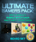 Ultimate Gamers Pack: Battlefield 4, Bubble Witch Saga and Candy Crush Saga: 3 Books In 1 Boxed Set