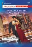 Marriage in Six Easy Lessons