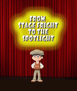 From Stage Fright to the Spotlight