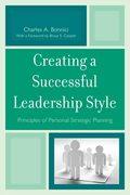 Creating a Successful Leadership Style: Principles of Personal Strategic Planning