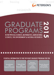 Peterson's Grad Programs in Physical Sciences, Math, AG Sciences, Envir & Natural Res 20154 (Grad 4)