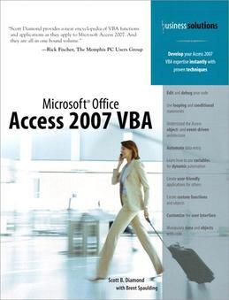 Microsoft Office Access 2007 VBA (Adobe Reader)