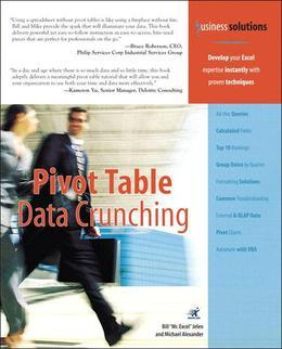 Pivot Table Data Crunching (Adobe Reader)