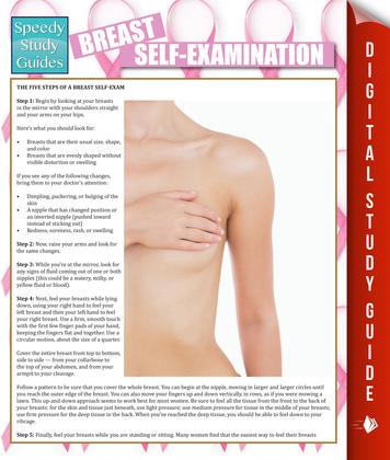 Breast Self-Examination: Speedy Study Guides
