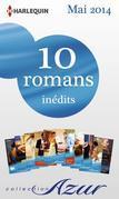 10 Romans Azur Inedits + 2 Gratuits (N 3465 a 3474 - Mai 2014)