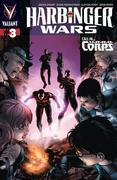 Harbinger Wars Issue 3