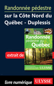 Randonnée pédestre Côte Nord du Québec Duplessis Manicouagan