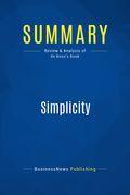 Summary: Simplicity - Edward Debono
