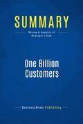 Summary: One Billion Customers - James McGregor