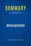 Summary: Metacapitalism - Grady Means and David Schneider