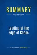 Summary: Leading At The Edge Of Chaos - Daryl Conner