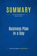 Summary: Business Plan In A Day - Rhonda Abrams