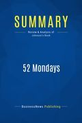 Summary: 52 Mondays - Vic Johnson
