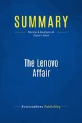 Summary: The Lenovo Affair - Ling Zhijun