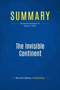 Summary: The Invisible Continent - Kenichi Ohmae