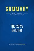 Summary: The 29% Solution - Ivan Misner and Michelle Donovan