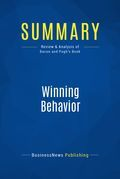 Summary: Winning Behavior - Terry Bacon and David Pugh