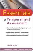 Essentials of Temperament Assessment