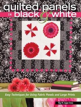 Quilted Panels in Black and White