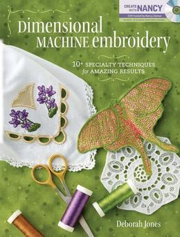 Dimensional Machine Embroidery