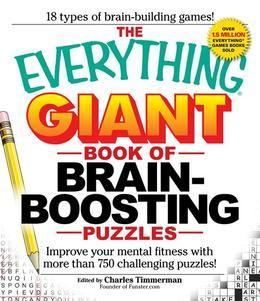The Everything Giant Book of Brain-Boosting Puzzles