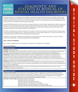 Diagnostic and Statistical Manual of Mental Health Disorders: Speedy Study Guides