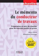 Le mmento du conducteur de travaux